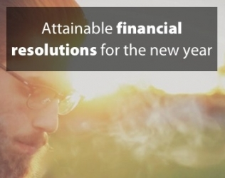 Attainable financial resolutions for 2018