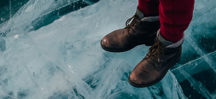 Crack the ice ahead of you