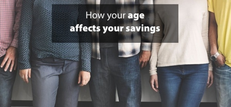How your age affects your savings