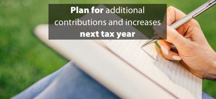 Prepare for additional tax increases next year