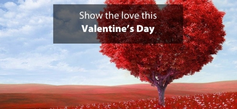 Show the love this Valentine's Day