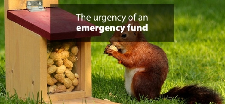 The urgency of an emergency fund