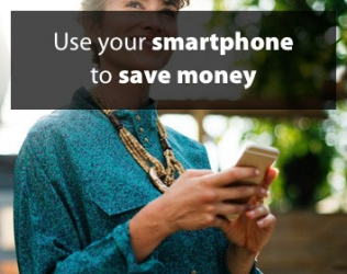 Use your smartphone to save money